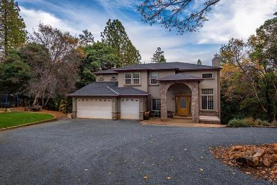 Foresthill Single Family Home For Sale: 5225 Crestline Drive
