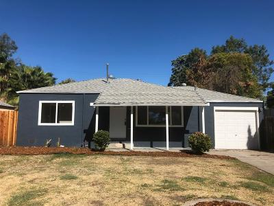 Stockton Single Family Home For Sale: 2875 Monte Diablo Avenue