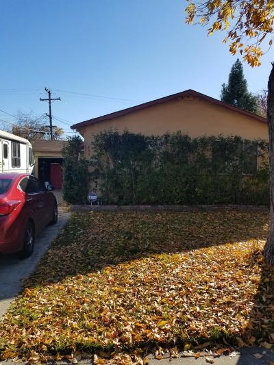 Stockton Single Family Home Active Short Sale: 608 Garner Lane