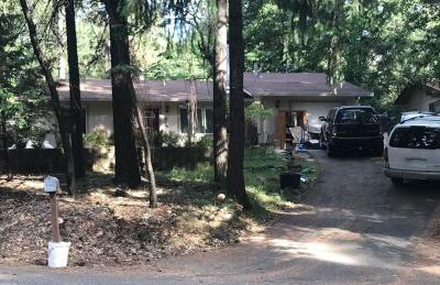 Pollock Pines CA Single Family Home Active Short Sale: $199,080