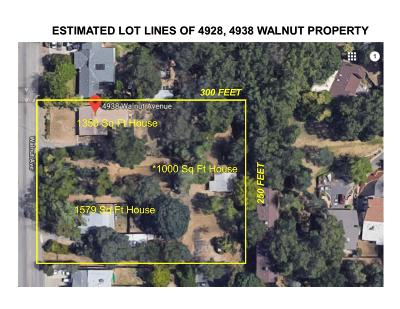 Sacramento Multi Family Home For Sale: 4928 Walnut Avenue