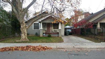 Sacramento Single Family Home For Sale: 3465 38th Street