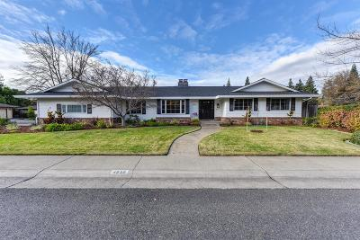 Sacramento Single Family Home For Sale: 4639 American River Drive