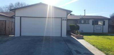 Gustine Single Family Home For Sale: 1416 Verde Dr