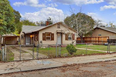 Stockton Single Family Home For Sale: 1019 Sullivan Avenue