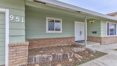 Gustine Single Family Home For Sale: 951 Elm Avenue