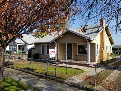 Stockton Single Family Home For Sale: 1260 School Avenue