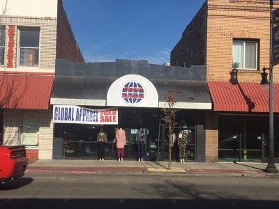 Manteca Commercial For Sale: 159 West Yosemite Avenue