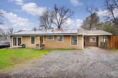 El Dorado Single Family Home For Sale: 4783 Bluebird Lane