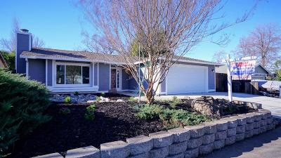 Citrus Heights Single Family Home Contingent: 7831 Wintergreen Drive
