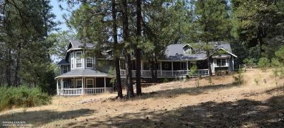 Grass Valley Single Family Home Contingent: 14920 Chattering Pines Road