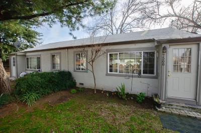 Citrus Heights Multi Family Home For Sale: 7508 Maple Avenue