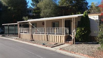 Placerville Mobile/Manufactured For Sale: 2837 Hidden Springs Circle