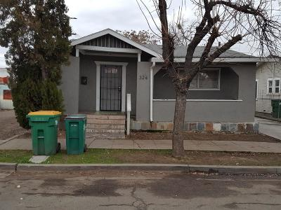 Stockton Single Family Home For Sale: 324 South Laurel Street