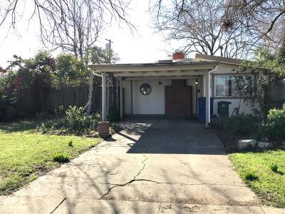 Sacramento Single Family Home For Sale: 2450 27th Avenue