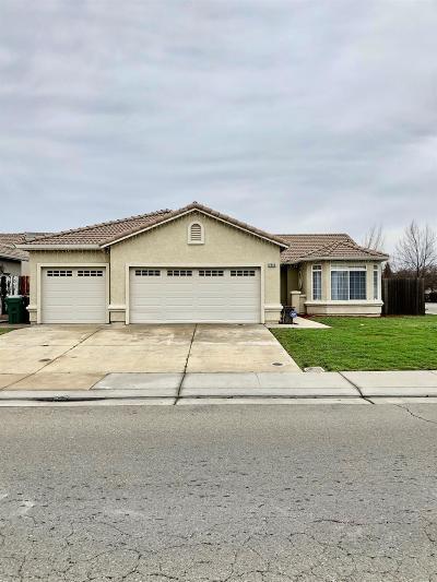 Stockton Single Family Home For Sale: 2545 Etcheverry Drive