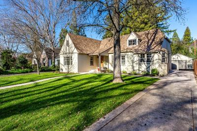 Sacramento Single Family Home For Sale: 1179 Perkins Way