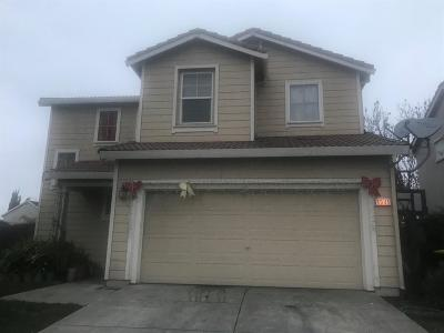 Stockton Single Family Home For Sale: 1941 Cushion Cap Drive