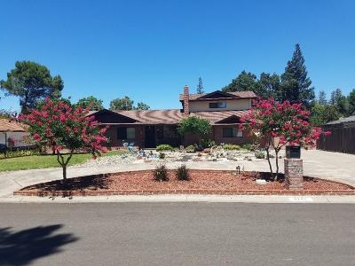 Stockton Single Family Home For Sale: 4741 Broughton Drive
