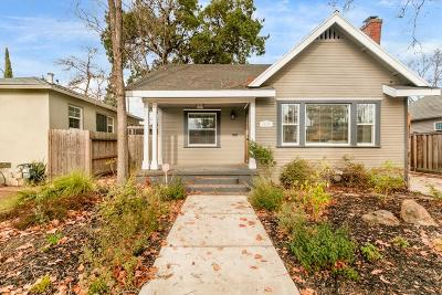 Sacramento Single Family Home For Sale: 4809 U Street