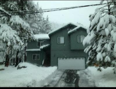 El Dorado County Single Family Home For Sale: 2549 Blitzen Rd