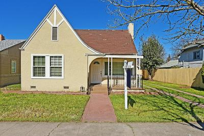 Stockton Single Family Home For Sale: 127 East Arcade Street