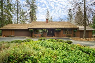 Nevada City Single Family Home For Sale: 10939 Pear Orchard Way