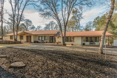 Shingle Springs Single Family Home For Sale: 4261 Maverick Road