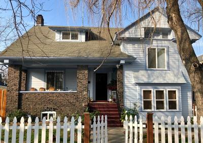 Stockton Single Family Home For Sale: 731 North Harrison Street