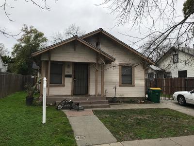 Stockton Single Family Home For Sale: 1765 Sycamore Avenue