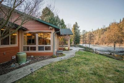 Douglas City Single Family Home For Sale: 281 River Ranch Frt Road