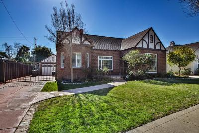Stockton Single Family Home For Sale: 1650 West Walnut Street
