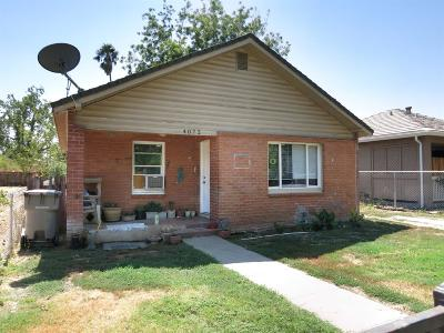 Sacramento CA Single Family Home For Sale: $195,000