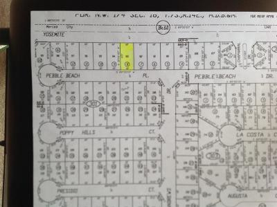 Merced Residential Lots & Land For Sale: 1813 Pebble Beach Place
