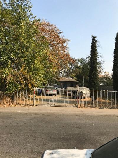 Sacramento CA Single Family Home For Sale: $140,000