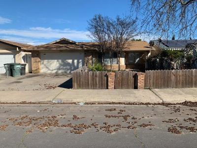 Modesto CA Single Family Home For Sale: $225,000