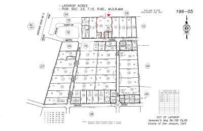 Lathrop Residential Lots & Land For Sale: 231 Warren Avenue
