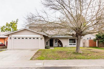 Sacramento Single Family Home For Sale: 3624 Mulholland Way