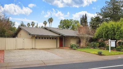Rancho Cordova Single Family Home Contingent: 2312 W La Loma Drive