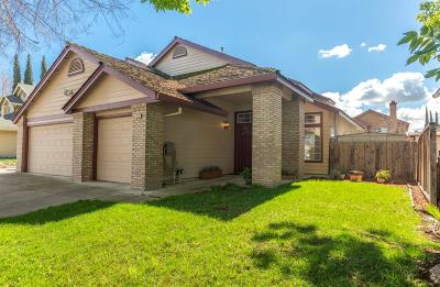 Tracy Single Family Home Contingent: 1540 Locust Drive