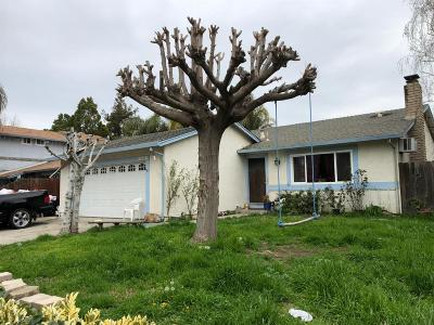 Tracy Single Family Home For Sale: 1550 Griffith Place