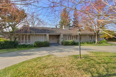 El Macero Single Family Home For Sale: 26894 Middle Golf Drive