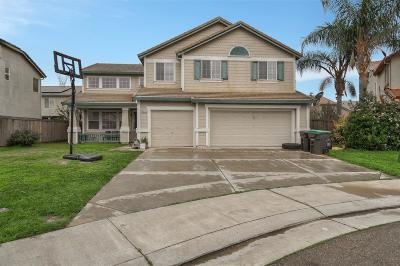 Stockton Single Family Home For Sale: 5021 Pier Drive