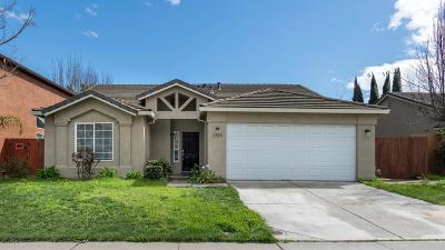 Stockton Single Family Home For Sale: 3722 Wild Rose Lane