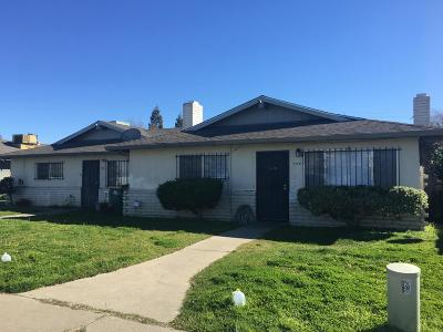 Stockton Multi Family Home For Sale: 702 Astor Street