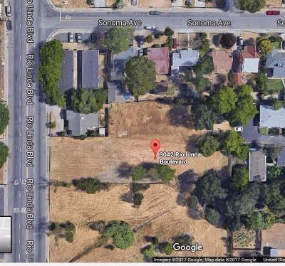 Sacramento Residential Lots & Land For Sale: 3042 Rio Linda Boulevard