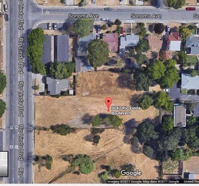 Sacramento County Residential Lots & Land For Sale: 3042 Rio Linda Boulevard