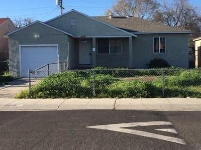 Stockton Single Family Home For Sale: 1645 Spring Street