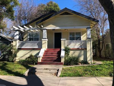 Sacramento Single Family Home For Sale: 1409 W Street