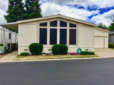 Roseville Mobile/Manufactured For Sale: 344 Garfield Way